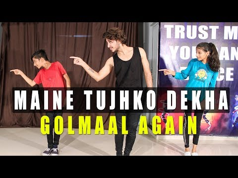 Maine Tujhko Dekha Dance Choreography | Golmaal Again | Vicky Patel Tutorial | Bollywood Hiphop
