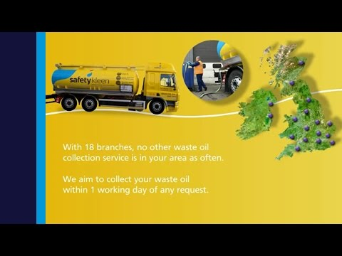 Safetykleen Waste Oil Collection