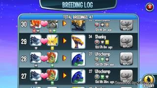 Monster Ends Breeding Log