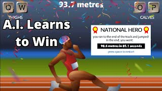 A.I. Learns to PĮay World's Hardest Game (QWOP)