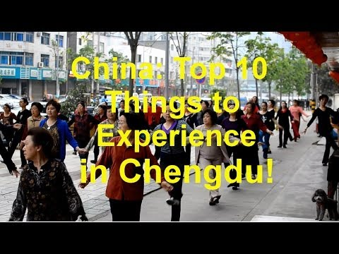 China: Top 10 things to Do in Chengdu!