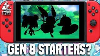NEW Pokemon Switch STARTERS LEAK? More Gen 8 Starters Images + Info [RUMOR]