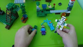 Лего майнкрафт Lego Minecraft
