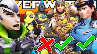 OVERWATCH *NEW* SKIN CONTEST BUT MY BROTHER IS THE JUDGE!? OVERWATCH CUSTOM GAME!