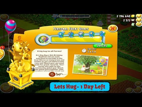 Hay Day Live - June 2017 - Lets Do the Hugs - Trees and Bushes