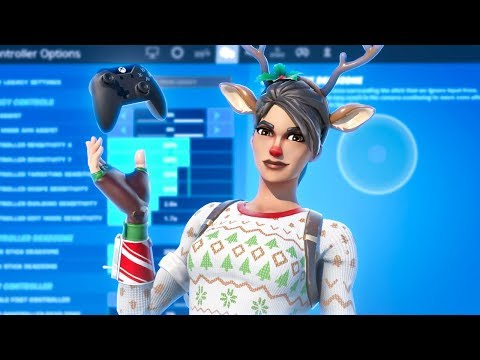 *BEST* Controller Fortnite Settings/Sensitivity! *UPDATED* Chapter 2 Settings - Xbox/PS4