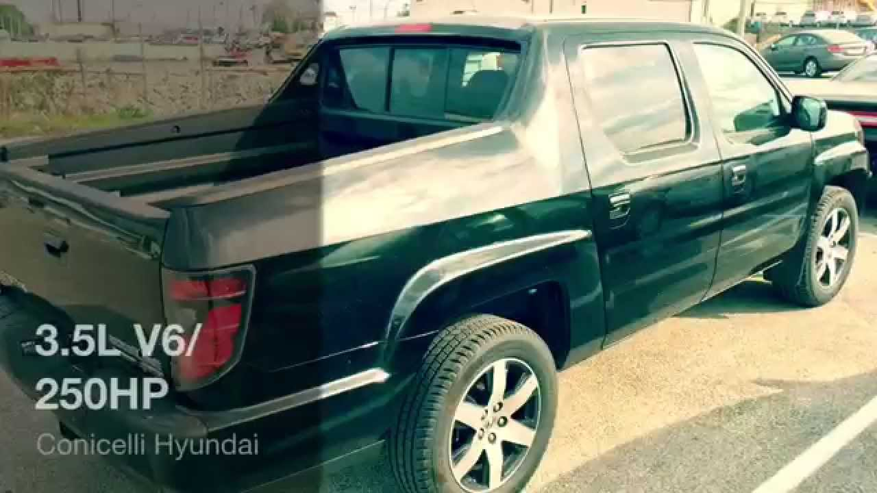 rare pre owned 2014 honda ridgeline special edition for sale at the conicelli autoplex youtube. Black Bedroom Furniture Sets. Home Design Ideas