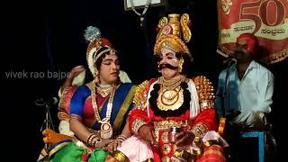 Yakshagana saligrama mela pushpa chandana dont miss this amazing clip