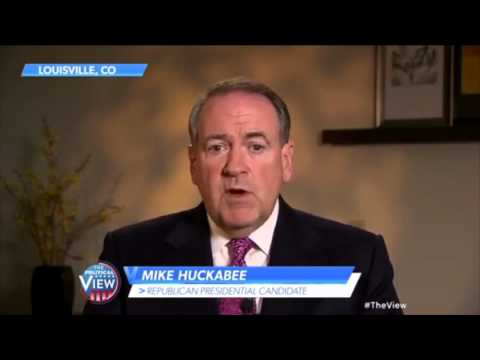 Whoopi and Huckabee on abortion