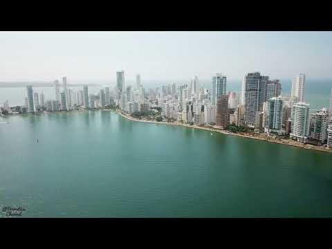Cartagena, Colombia | 4K UHD | Skyview