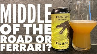 Buxton Kingslayer Double IPA By Buxton Brewery | British Craft Beer Review