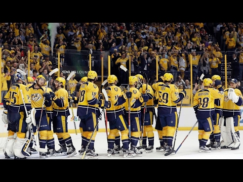 Predators complete first round sweep of Blackhawks
