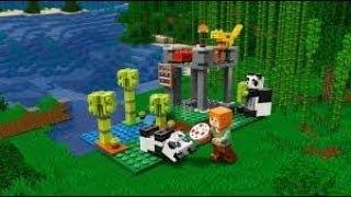 Minecraft   Le repas des pandas