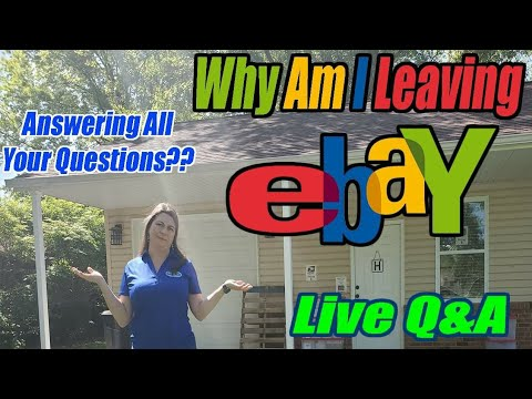 Live Q&A -Why Am I Leaving Ebay? - Online Reselling - I Also Answer All The Live Questions From You!