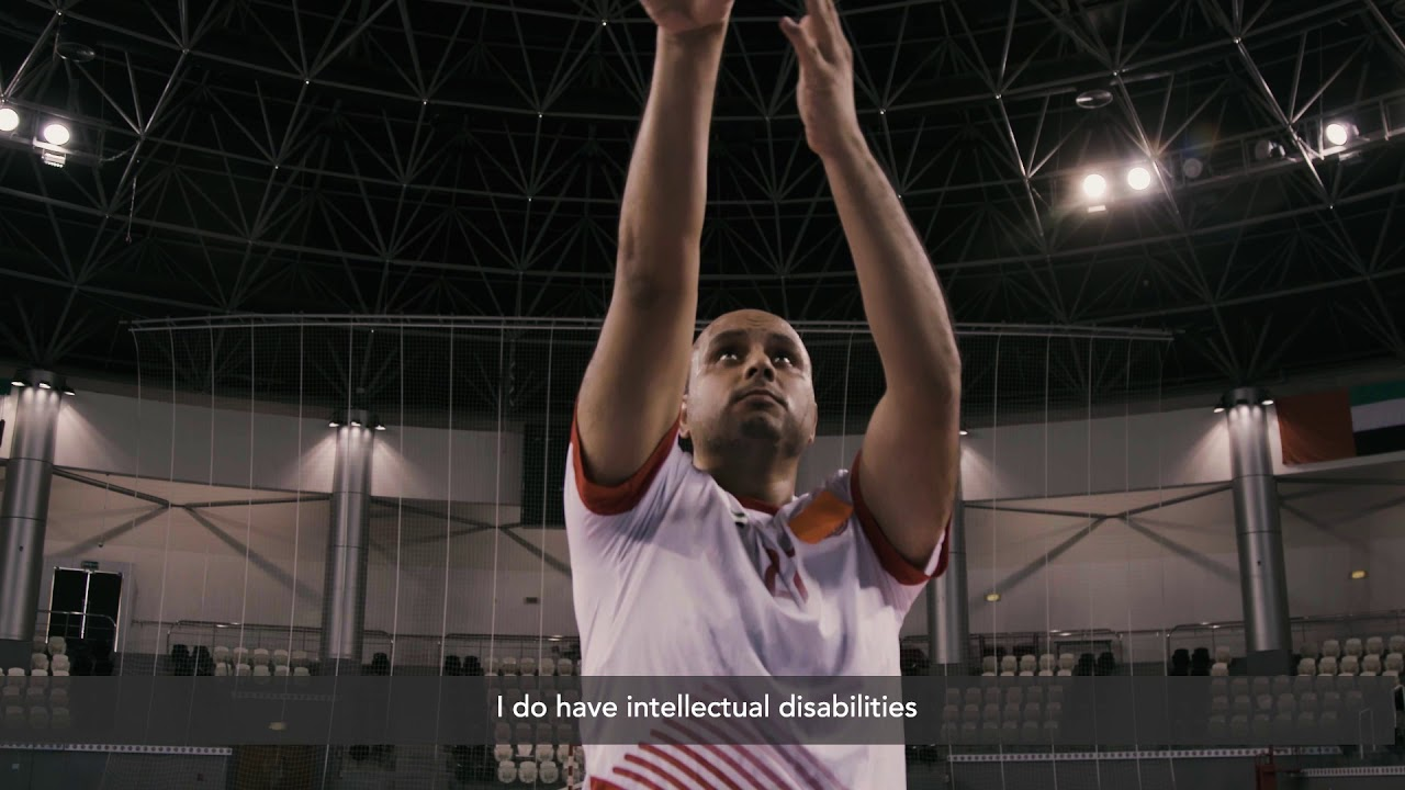 Watch Butti Al Sheezawi, Special Olympics Basketball