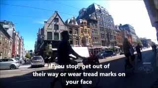 Amsterdam Bicycling TIps and Survival