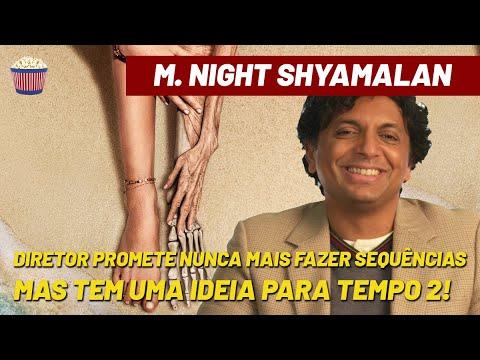 Shyamalan revela que NUNCA mais fará uma sequência… mas teve uma ideia para TEMPO 2!
