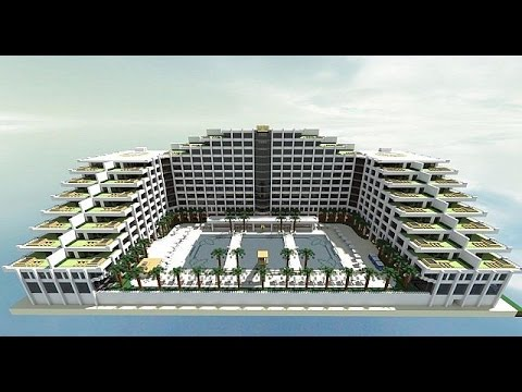 Minecraft descarga hotel de lujo minecraft youtube for Hoteles de lujo modernos