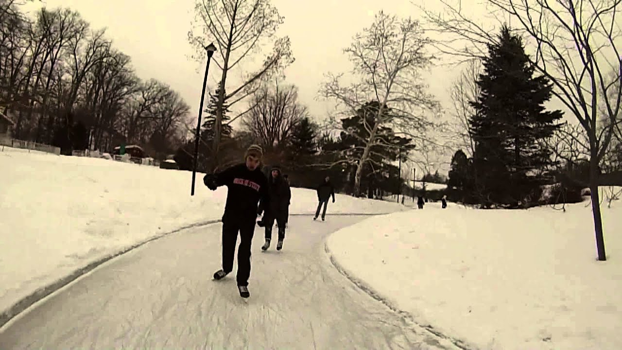 storybook gardens ice skating park filmed with a gopro youtube