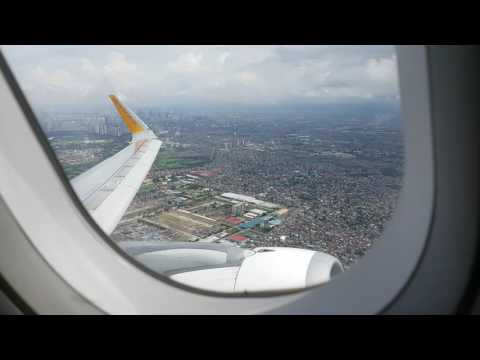 CEBU PACIFIC A320 RP-C4100 Take Off from Manila to Laguindingan Airport