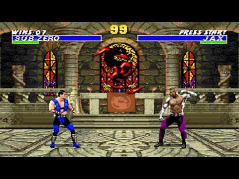 Ultimate Mortal Kombat 3 Sub Zero