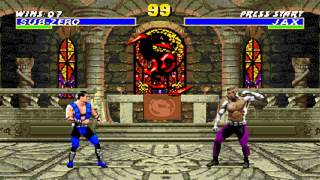 Ultimate Mortal Kombat 3 Sub Zero
