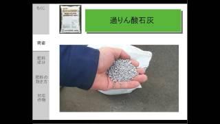 過リン酸石灰肥料