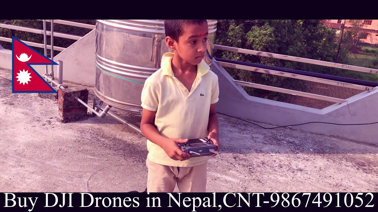 Buy DJI Drones in Nepal - 9 Years Old Nepali Boy Flies Drone like a Pro Pilot фото