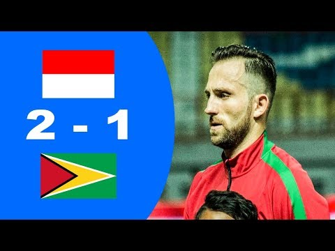 Aksi Febri Indonesia vs Guyana