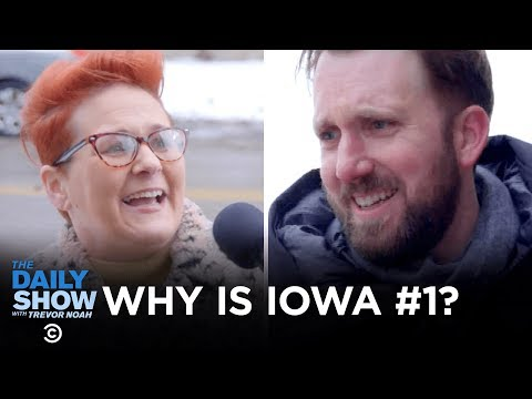 Jordan Klepper Fingers the Pulse - Why Is the Iowa Caucus First? | The Daily Show