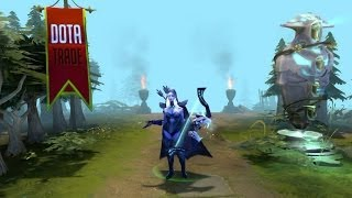 Bow of the Howling Wind Drow Ranger custom animation preview Dota 2