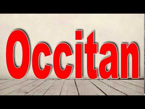 How to Pronounce Occitan