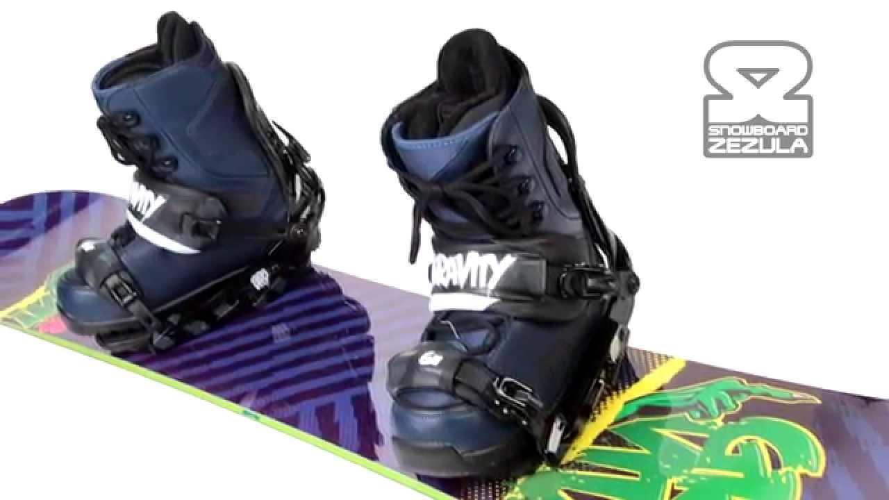 59e9f4101 Nejlepší Gravity snowboard komplet 8990 Kč - YouTube