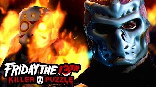 YOU CAN PLAY AS UBER JASON NOW?!   Friday the 13th: Killer Puzzle