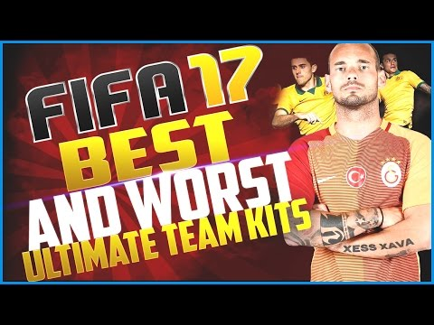FIFA 17 Top 10 Ultimate Team Kits! The Best and Worst FUT 17 Kits!