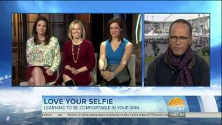 Weekend Today Show Cast in boots and leather skirt - 22-Feb-2014