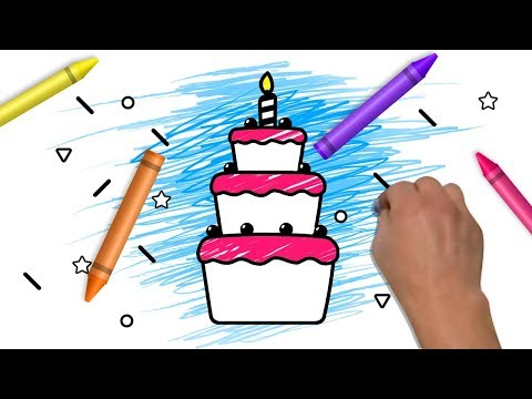 Drawings & Painting For Kids | Yummy Food Coloring Book | Learning Colors From Color World