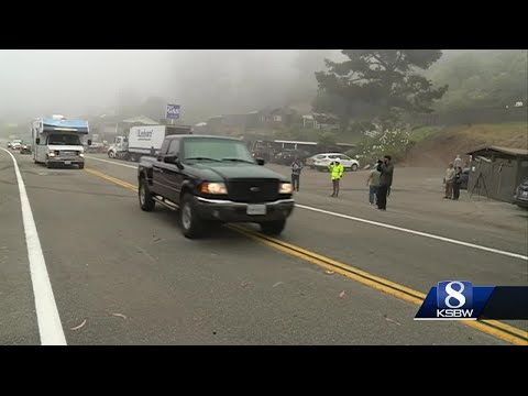 Iconic stretch of Highway 1 reopens south of Big Sur