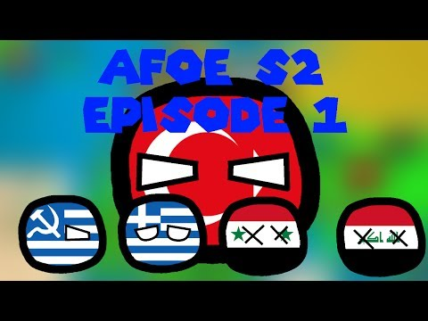 AFoE in Countryballs [S2] [Episode 1] The Breakup of NATO and EU