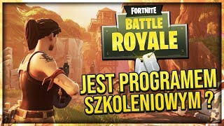Or FORTNITE BATTLE ROYALE is the TRAINING PROGRAMME? [The theory] | | Searchlight