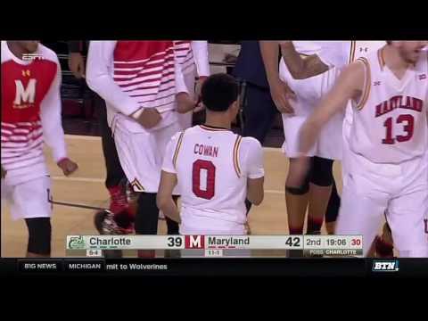 Charlotte vs. Maryland - Men's Basketball Highlights