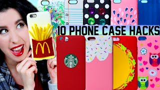 10 diy phone case life hacks   clever ways to spice up your plain iphone case