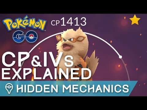 POKÉMON GO's HIDDEN MECHANICS: CP, IVs, LEVELS, STATS EXPLAINED