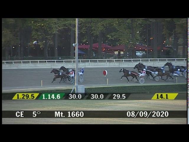 2020 09 08 | Corsa 5 | Metri 1660 | Premio Cesena