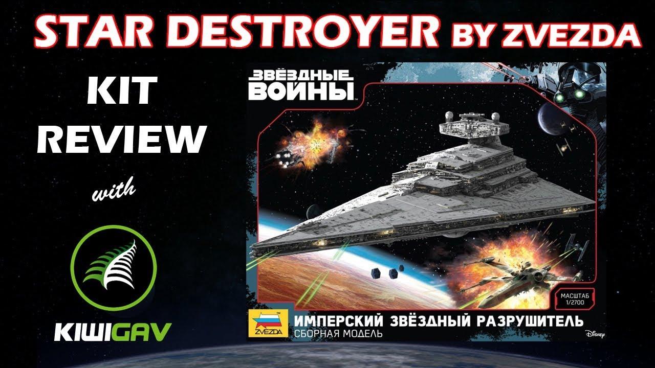 Zvezda Star Destroyer Review