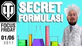 World of Tanks PC - Secret Formulas - Focus Friday