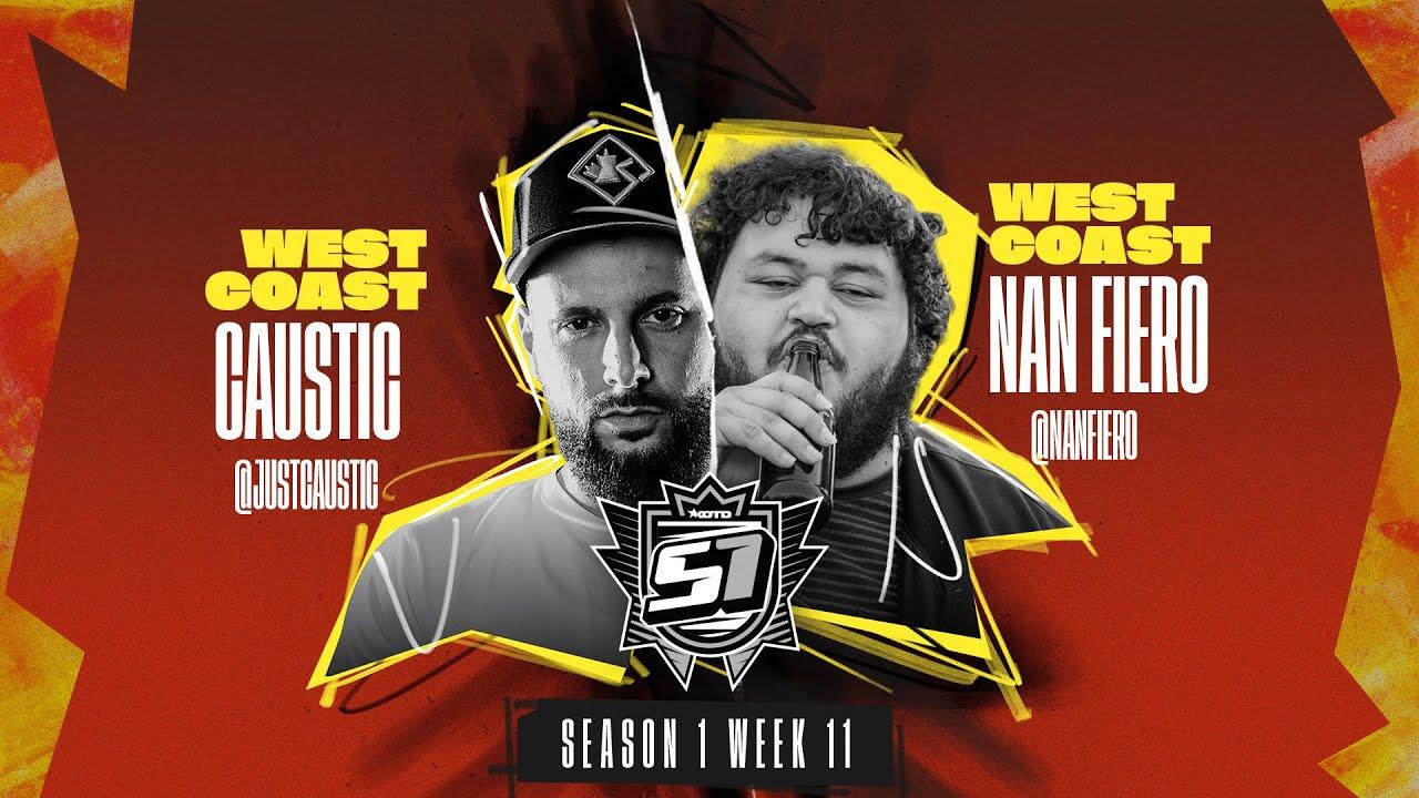 Download KOTD - Rap Battle - Caustic vs Nan Fiero   S1W11