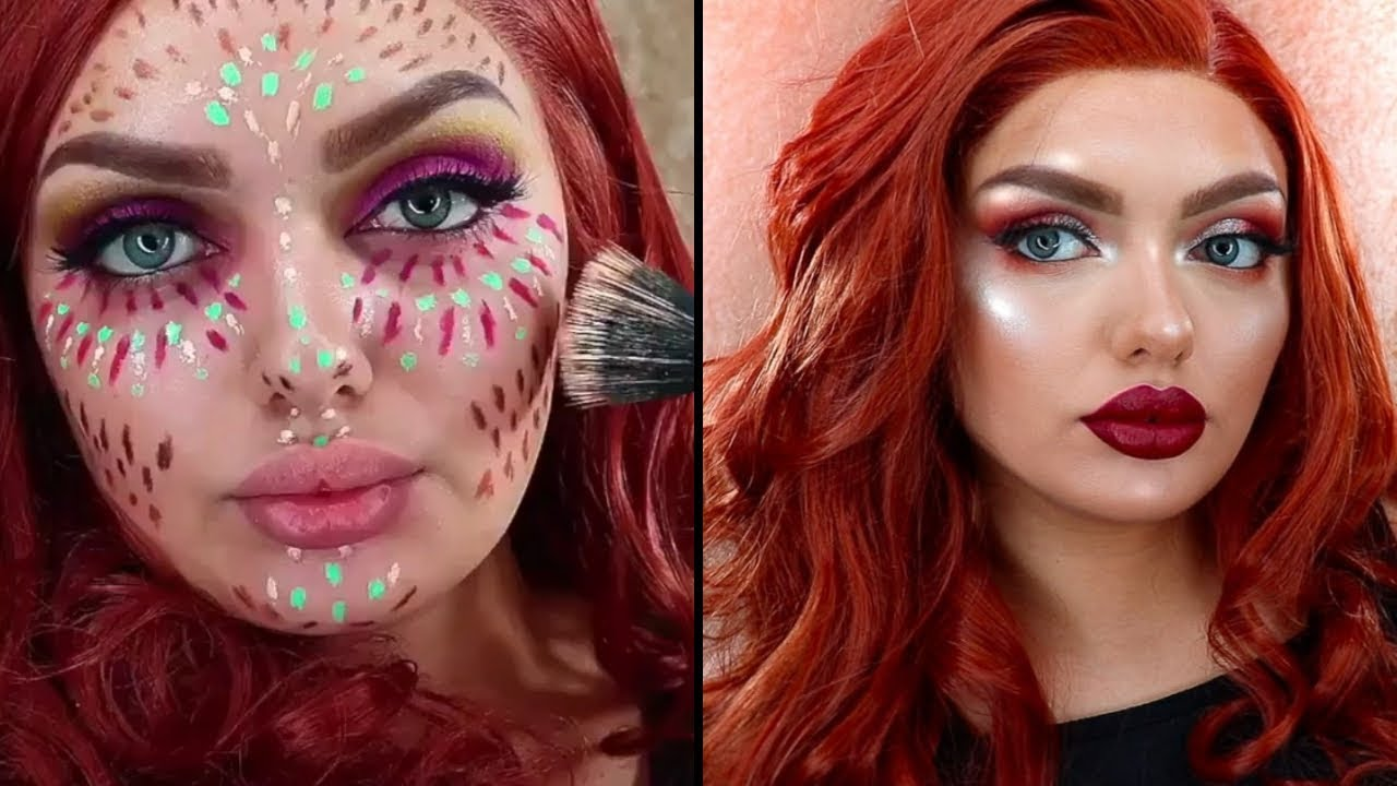 Before And After Makeup Transformations Compilation Best Top