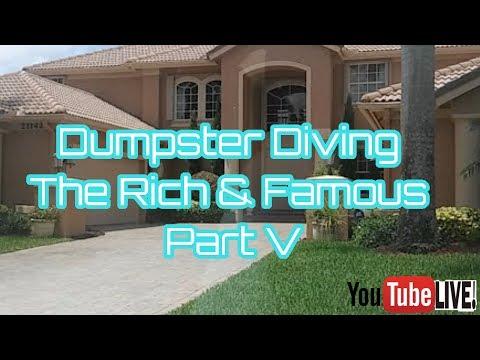 Dumpster Diving The Rich & Famous Trash Part V