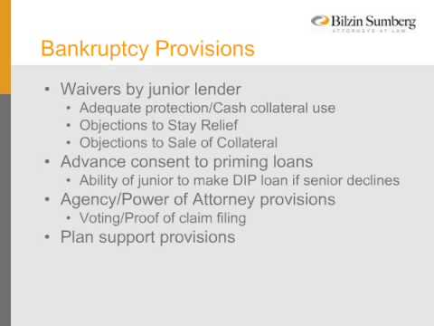 General Councel Series: Bankruptcy Issues for General Counsel, Part One
